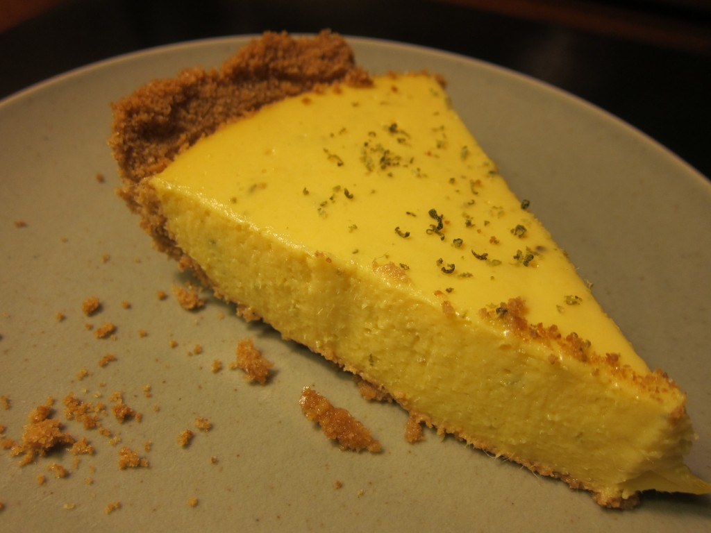 Mango-Key Lime Pie