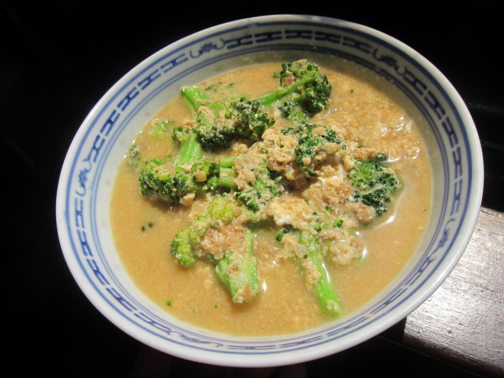 Egg Drop Broccoli