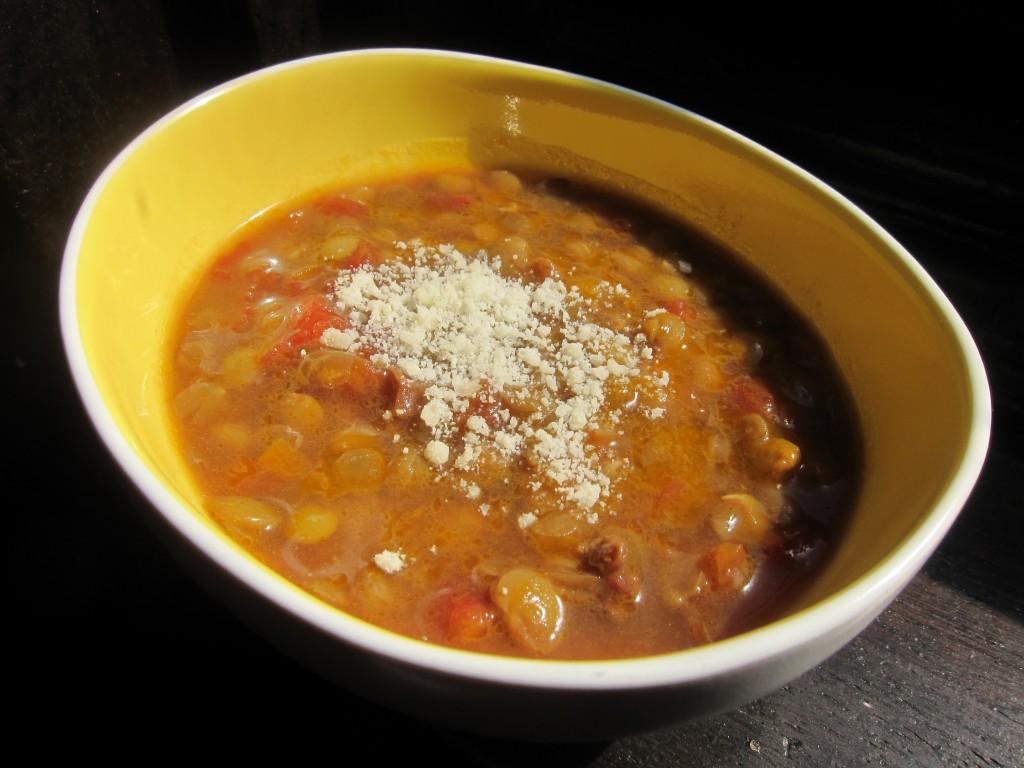 John Searles' Lentil Soup