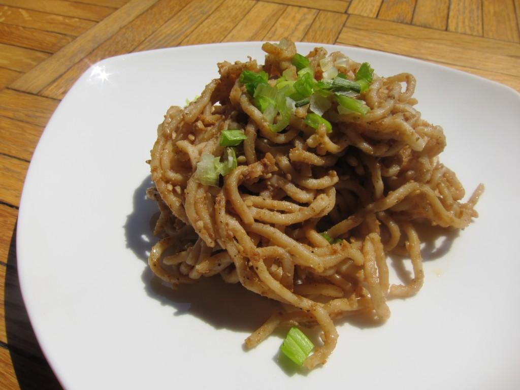 Sichuan Sesame Noodles